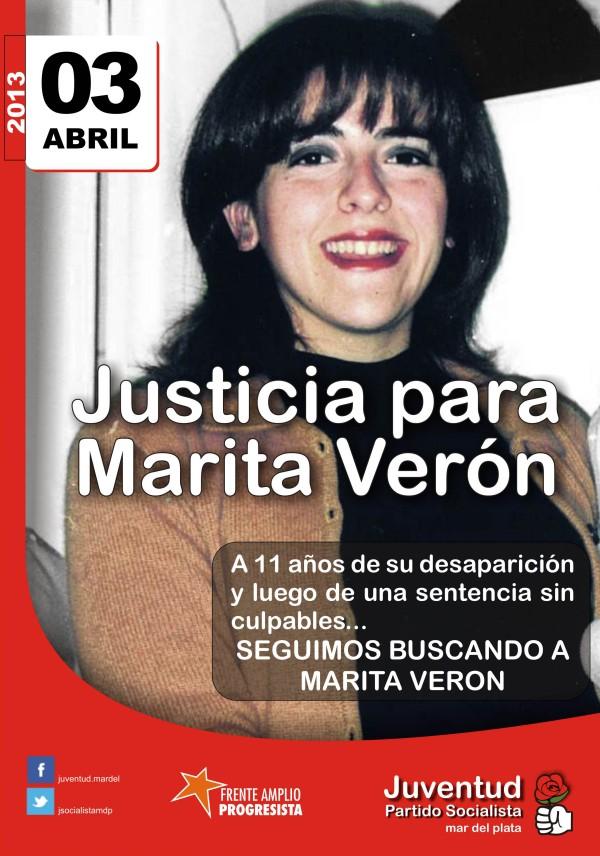 Marita Verón 03 de abril