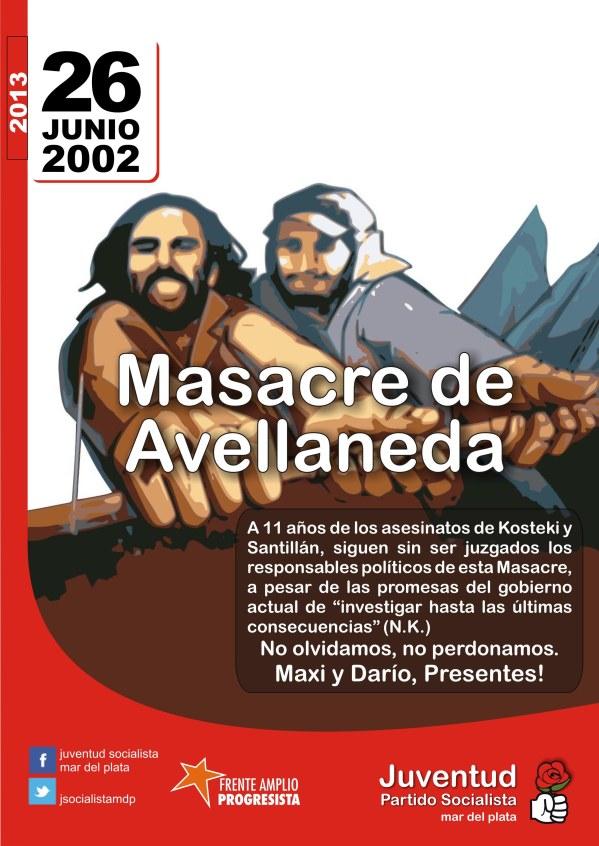 masacre de Avellaneda 2013